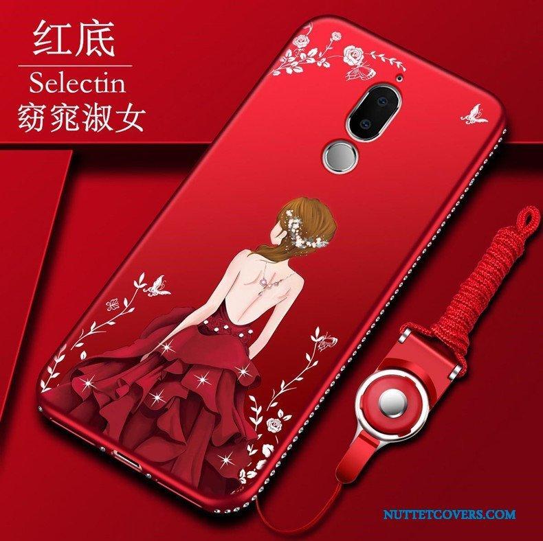 Etui Til Huawei Mate 10 Lite Cover Beskyttelse Support Blød