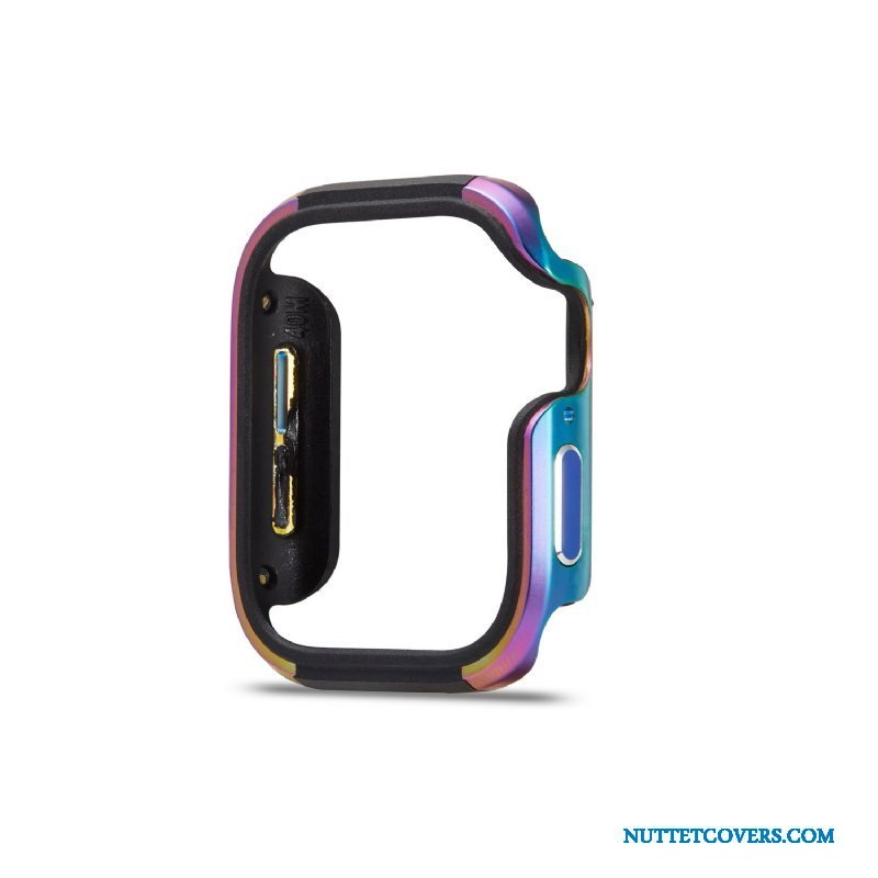 Etui Til Apple Watch Series 2 Farve Blød Anti-fald Cover Ramme Metal