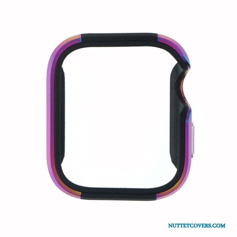 Etui Til Apple Watch Series 5 Metal Beskyttelse Legering Lilla