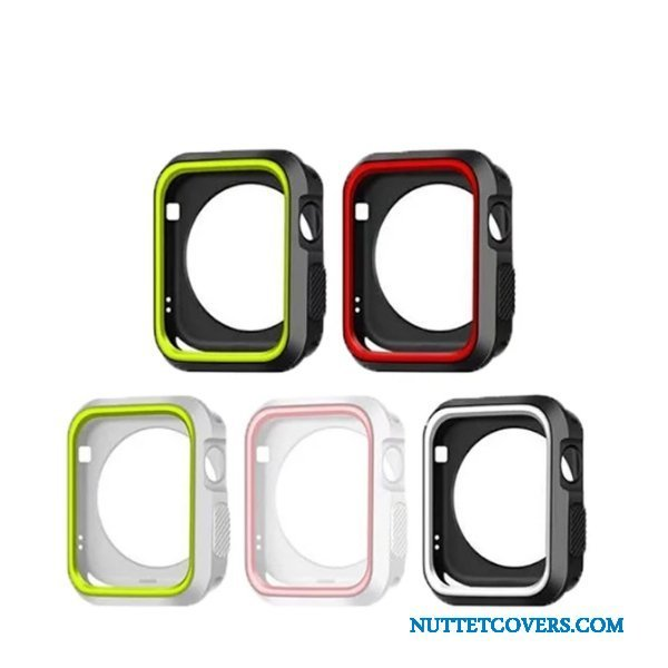 Etui Til Apple Watch Series 5 Sort Blød Cover
