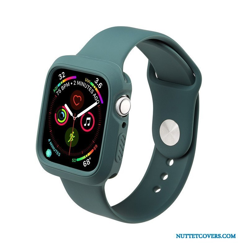Etui Til Apple Watch Series 5 Vandtætte Sport Trend Beskyttelse Grøn