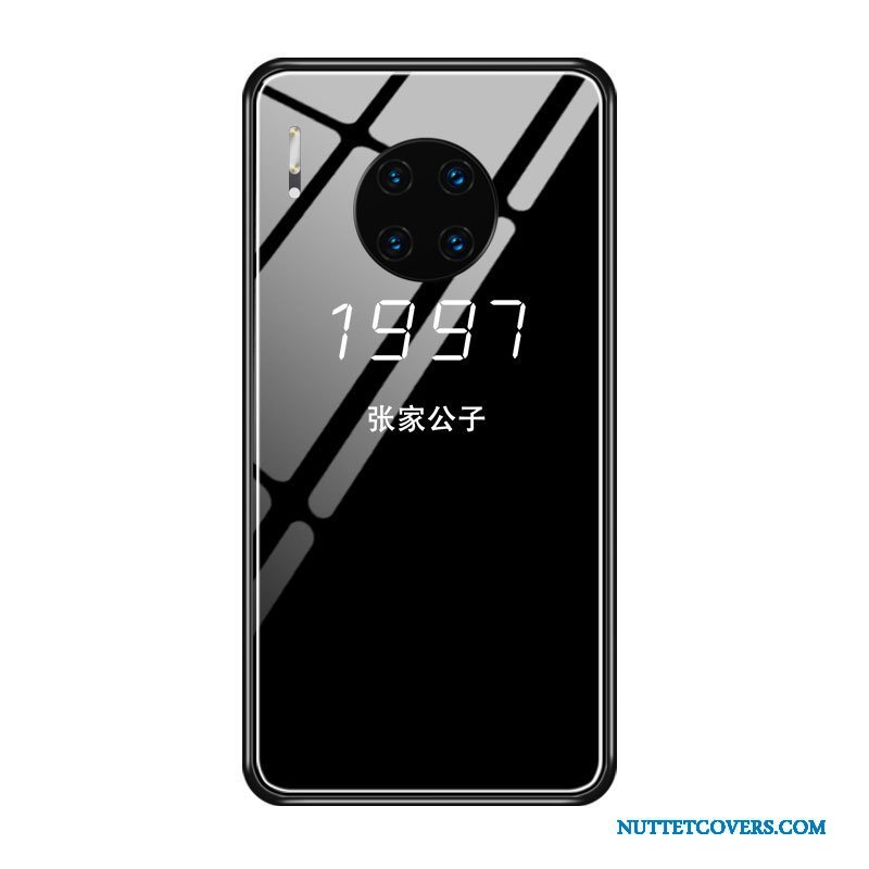 Etui Til Huawei Mate 30 Blød Glas Anti-fald Trendy Net Red