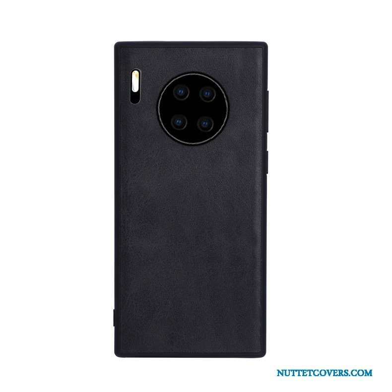 Etui Til Huawei Mate 30 Cover Nubuck Anti-fald Simple Beskyttelse Alt Inklusive