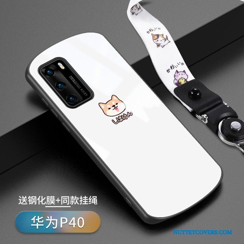 Etui Til Huawei P40 Cover Kreativ Net Red Anti-fald Cartoon Beskyttelse