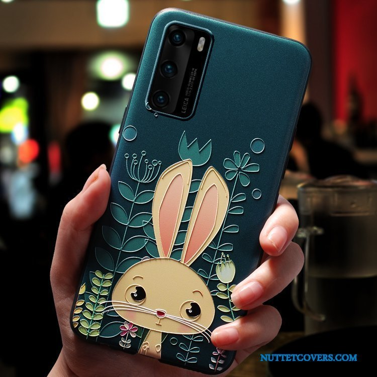 Etui Til Huawei P40 Kreativ Alt Inklusive Vind Cover Net Red Cartoon