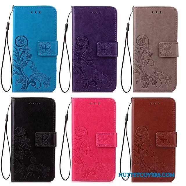 Etui Til Lg X Power Folio Trendy Cover Kreativ Mobiltelefon