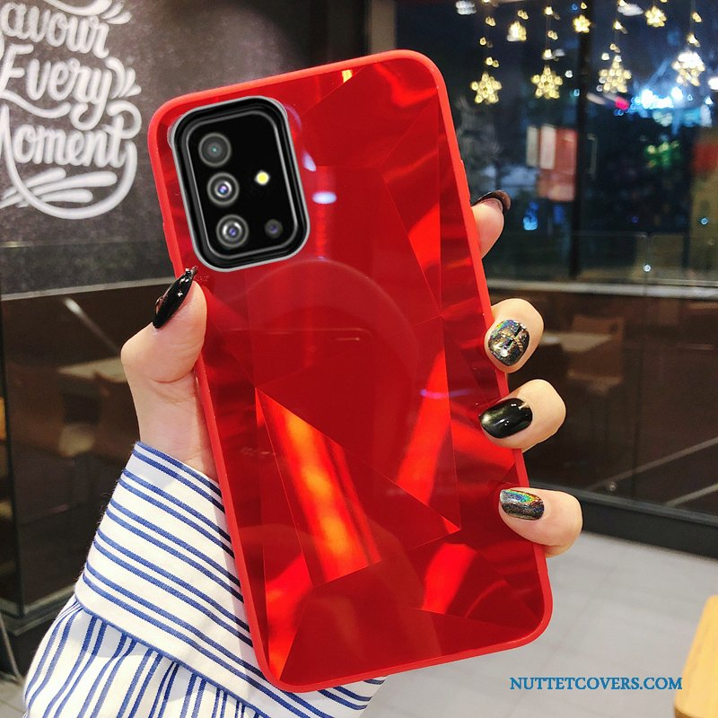 Etui Til Samsung Galaxy A71 Trend Net Red Elskeren Dekompression Cartoon Lille Sektion