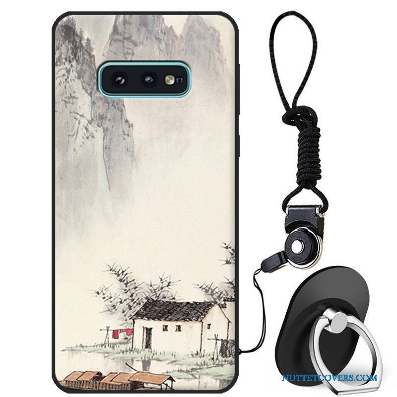 Etui Til Samsung Galaxy S10e Cover Anti-fald Telefon Cartoon Blød Ny