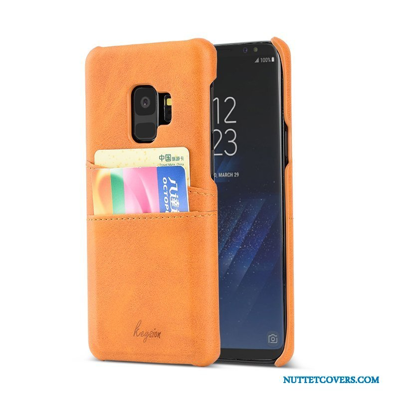 Etui Til Samsung Galaxy S9 Anti-fald Beskyttelse Mode Cover Trend