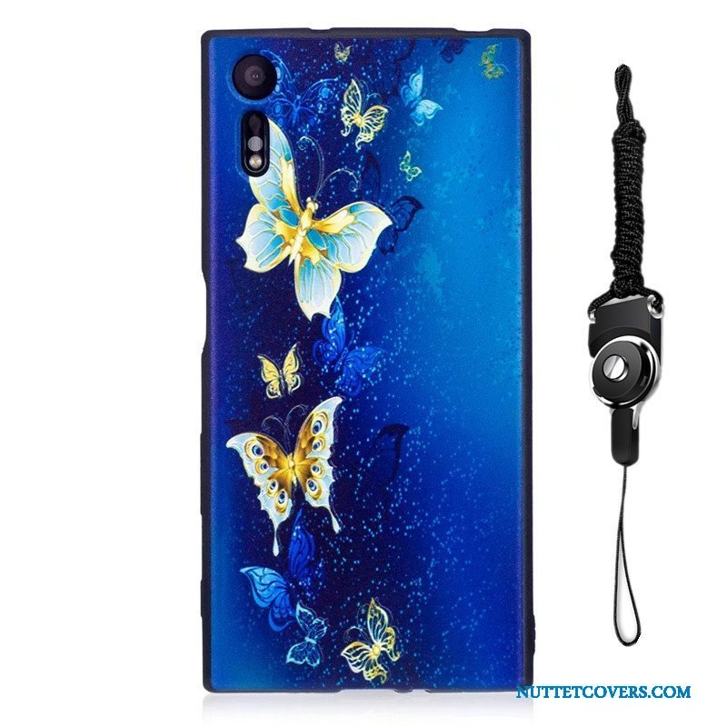 Etui Til Sony Xperia Xz Hængende Ornamenter Trend Malet Cover Cartoon