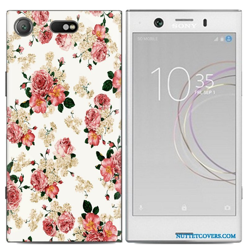Etui Til Sony Xperia Xz1 Compact Mobiltelefon Kreativ Cover Trend Anti-fald Af Personlighed