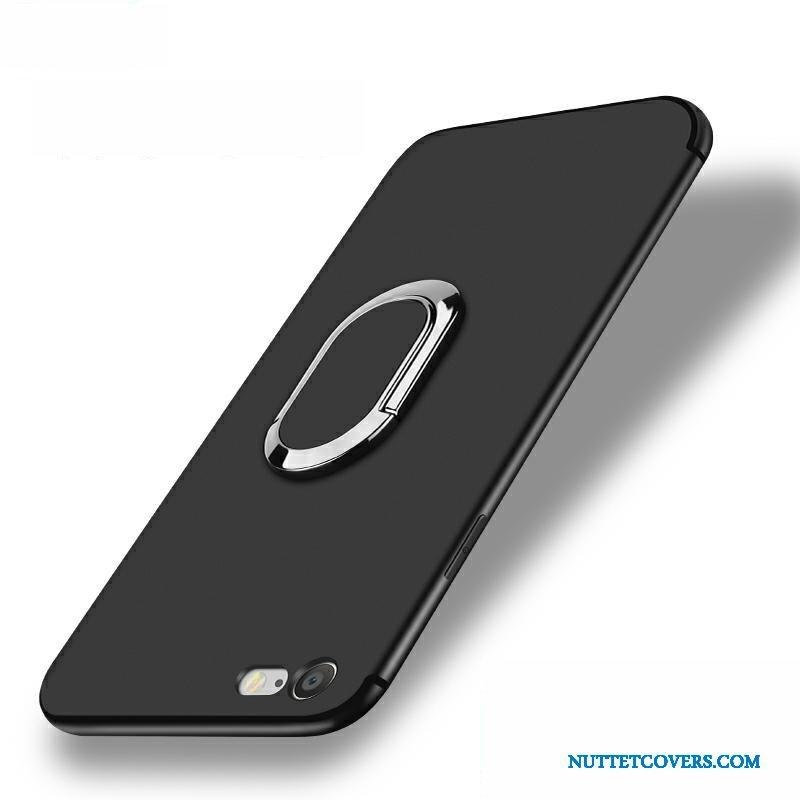 Etui Til iPhone 6 6s Plus Tynd Silikone Sort Telefon Cover Trend 8303ee23893b7